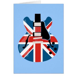 Cartes Guitare de Britpop