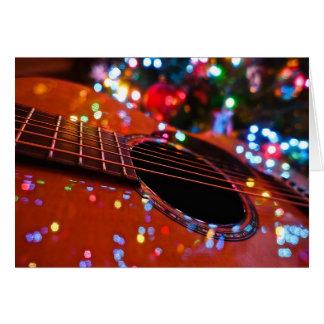 Cartes Guitare de Noël