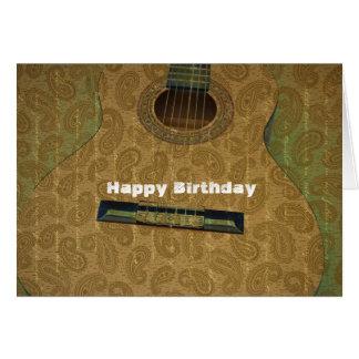 Cartes Guitare de Paisley