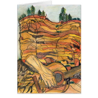 Cartes Guitare de roche