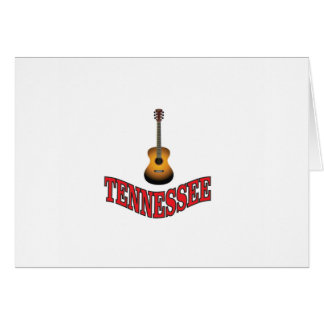 Cartes Guitare du Tennessee