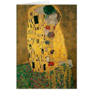 Cartes Gustav Klimt le cru de GalleryHD de baiser