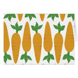 Cartes Gwennie le petit pain : Champ des carottes