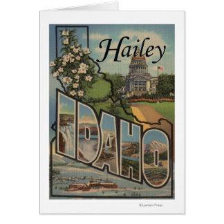 Cartes Hailey, lettre ScenesHailey, identification