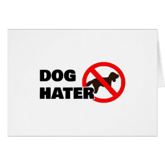 Cartes Haineux de chien