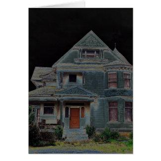 Cartes Halloween a hanté la Chambre