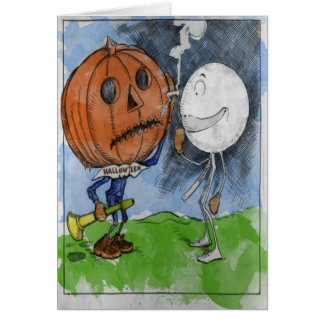 Cartes Halloween et Snowball