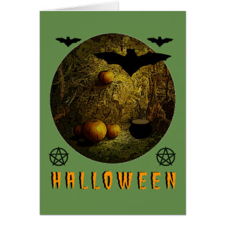Cartes Halloween heureux