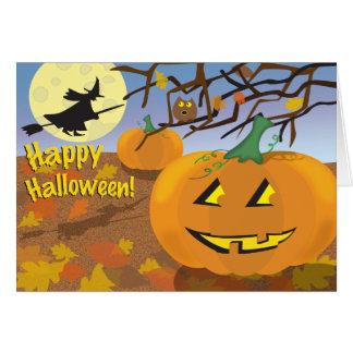 Cartes Halloween heureux !