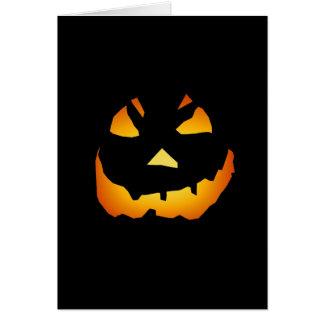 Cartes Halloween : Jack-o'-lantern font face :