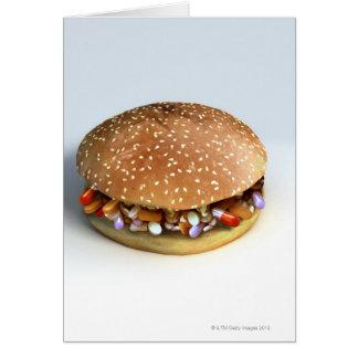 Cartes Hamburger de pilule