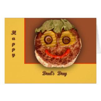 Cartes Hamburger heureux