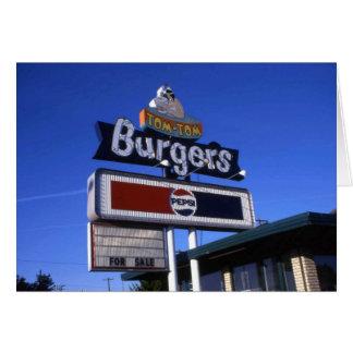 Cartes Hamburger Yakima de Tom-Tom
