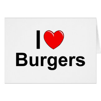 Cartes Hamburgers