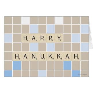 Cartes Hannukah heureux