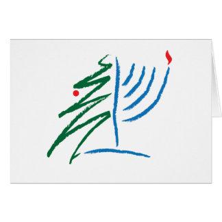 Cartes Hanoukka/carte de Noël