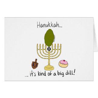 Cartes Hanoukka, c'est un peu un grand aneth !
