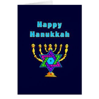 Cartes Hanoukka heureux