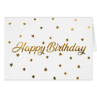 Cartes Happy Birthday