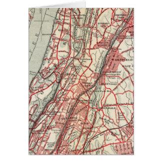 Cartes Harlem, Yonkers, manoir de Pelham, New York