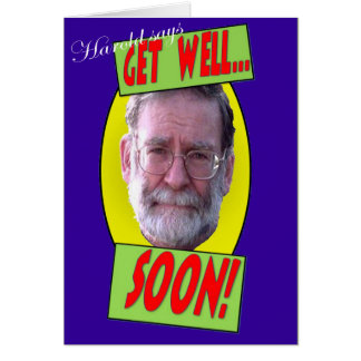 Cartes Harold dit que 'obtenez le soon bon
