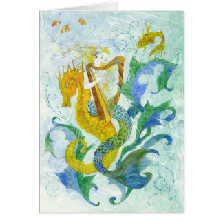 Cartes Harpiste de sirène