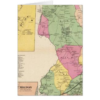 Cartes Harrison, villes de Rye