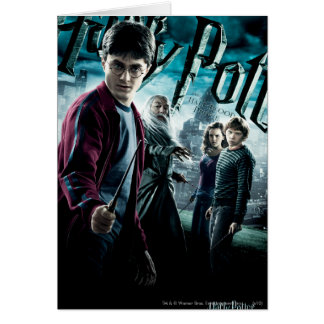 Cartes Harry Potter avec Dumbledore Ron et Hermione 1