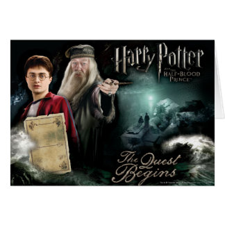 Cartes Harry Potter et Dumbledore