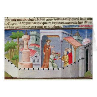 Cartes Hassan i Sabbah menant les initiations