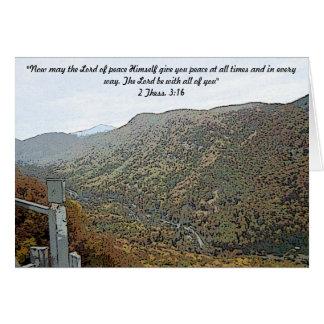 Cartes Hausse par les montagnes peintes