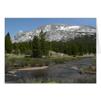 Cartes Haut parc du courant II Yosemite de montagne de