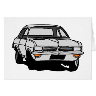 Cartes HC blanc de vivats de Vauxhall
