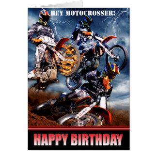 Cartes Hé Motocrosser !