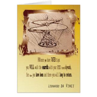 Cartes Hélicoptère de da Vinci