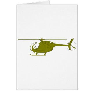 Cartes Hélicoptère d'observation d'OH-6A
