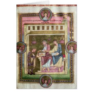 Cartes Henry III avec les apôtres Simon et Judas