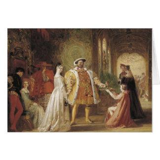 Cartes Henry VIII et Anne Boleyn