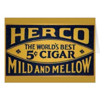 Cartes Herco Cigar-1905
