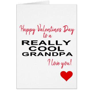 Cartes heureuse Sainte-Valentin à un grand-papa vraiment