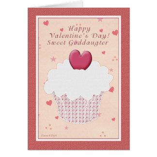 Cartes Heureuse Sainte-Valentin de filleule - petit