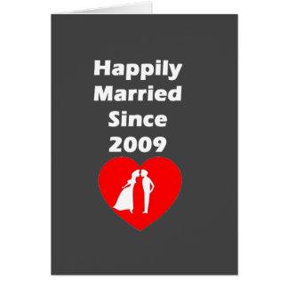 Cartes Heureusement marié depuis 2009