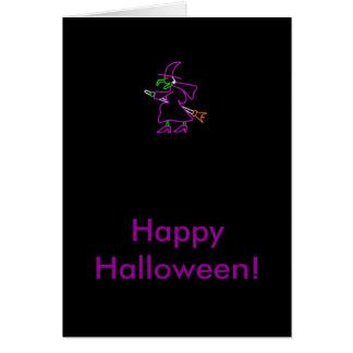 Cartes heureuses de Halloween