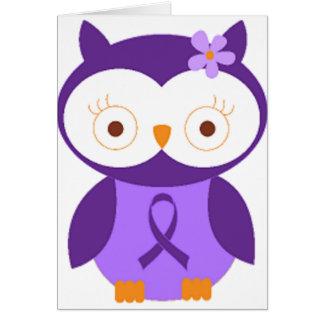 Cartes Hibou de fibromyalgie