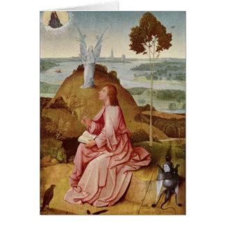Cartes Hieronymus Bosch peignant l'art
