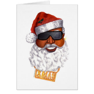 Cartes Hip hop Père Noël