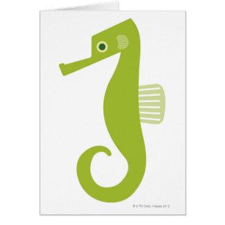 Cartes Hippocampe vert
