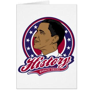 Cartes Histoire de Barack Obama