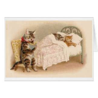 Cartes Histoire pour endormir pour des chatons,
