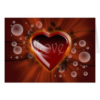 Cartes Histoires d'amour, coeur de vecteur avec des